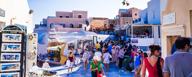 Ada Sokakları - Santorini