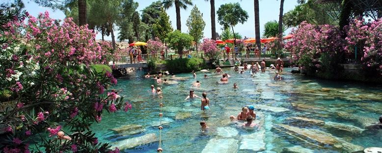 Hierapolis Termal Havuzları - Pamukkale