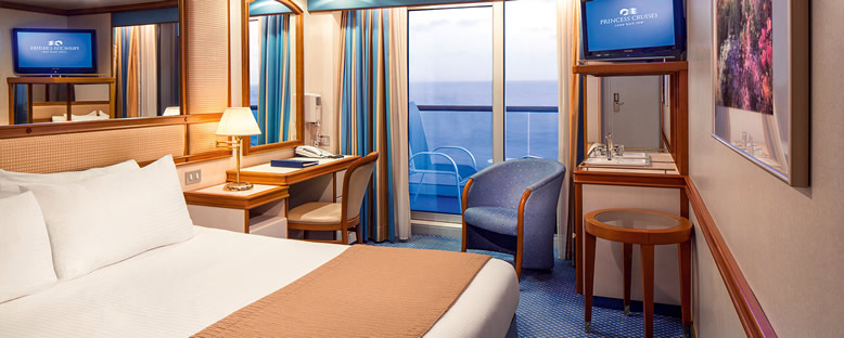 Örnek Balkonlu Kabin - Princess Cruise