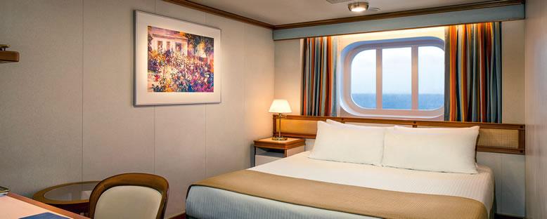 Örnek Dış Kabin - Princess Cruise