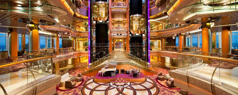 Atrium - Brilliance of the Seas