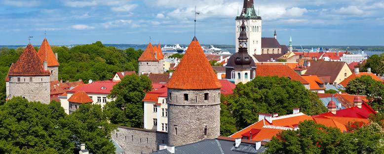 Tarihi Merkez Görünümü - Tallinn