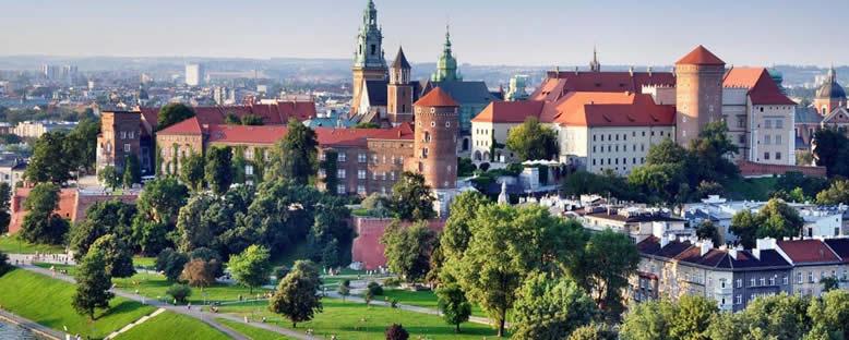 Kent Manzarası - Krakow