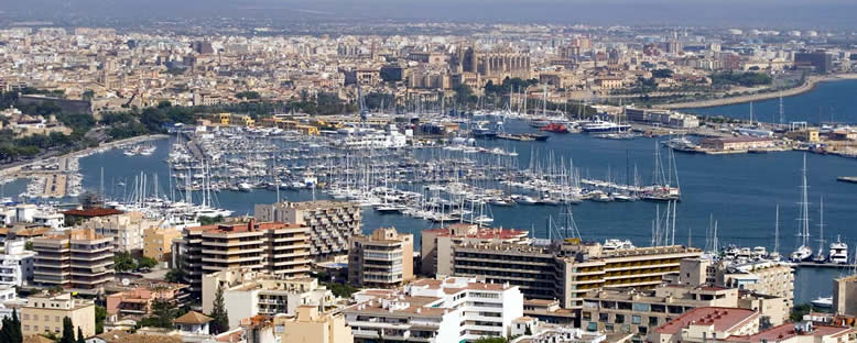 Şehir Manzarası - Palma de Mallorca