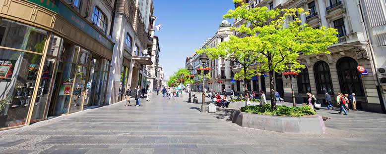 Knez Milailova Caddesi - Belgrad