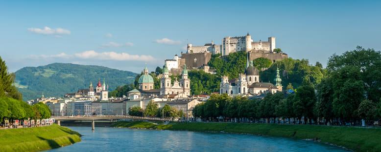 Kent Manzarası - Salzburg