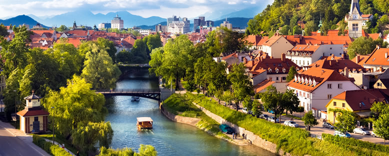 Nehir Manzarası - Ljubljana