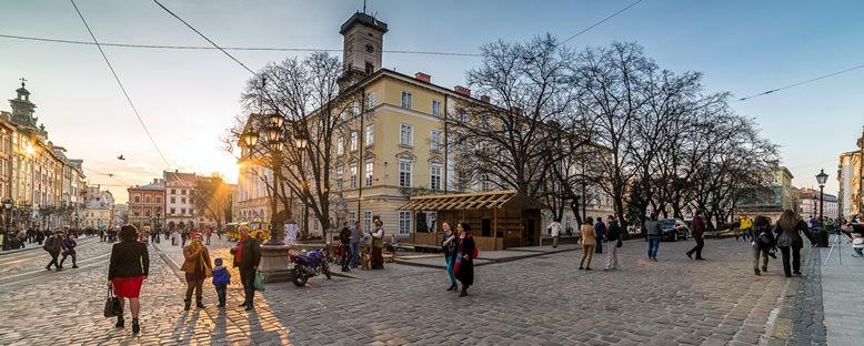 Kent Sokakları - Lviv