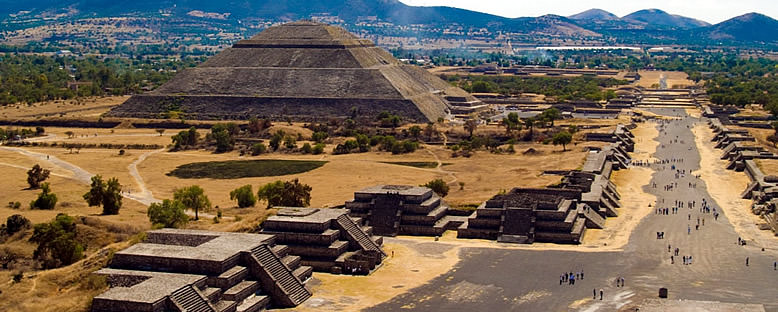 Piramitler - Teotihuacan
