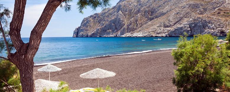 Kamari Plajı - Santorini