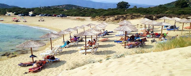 Ammolofoi Plajı - Kavala