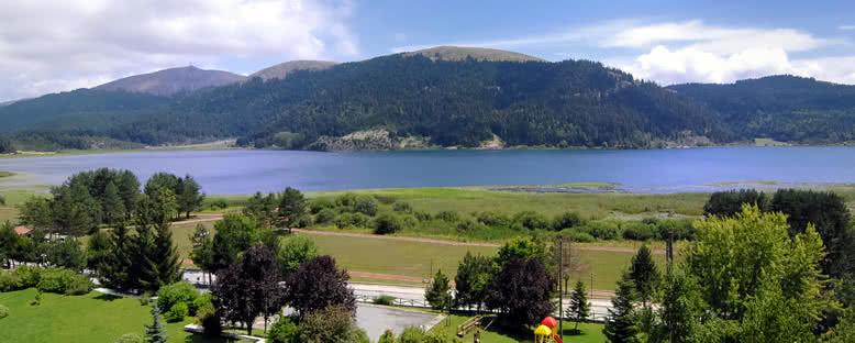 Abant Gölü Manzarası - Abant
