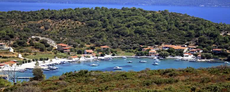 Ada Manzarası - Sisam
