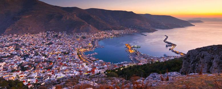 Adada Gün Batımı - Kalimnos