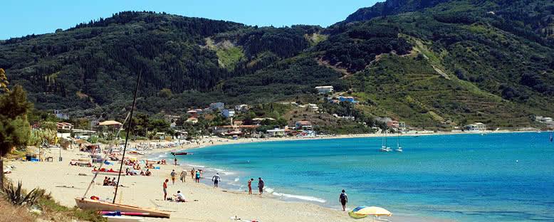 Agios Georgios Plajı - Korfu