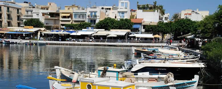 Agios Nikolaos Limanı - Girit