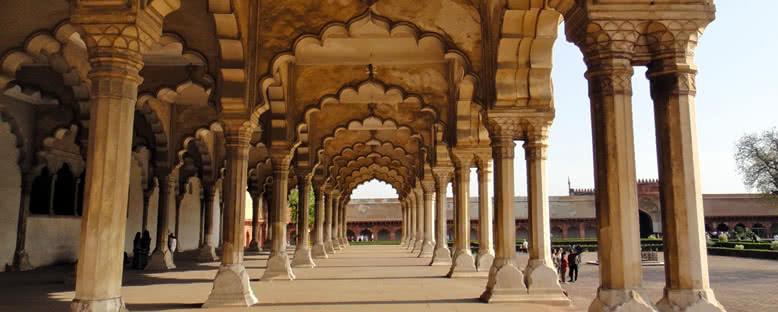 Agra Kalesi'nin Bahçesi - Agra