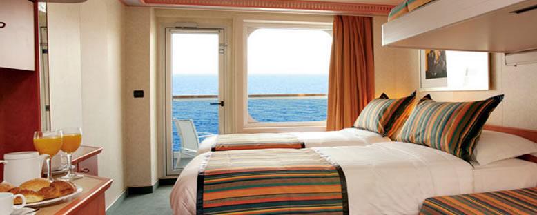 Costa Pacifica Örnek Balkonlu Kabin