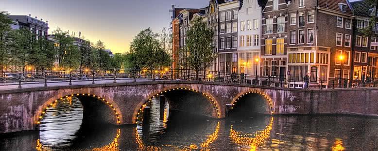 Akşam Manzarası - Amsterdam