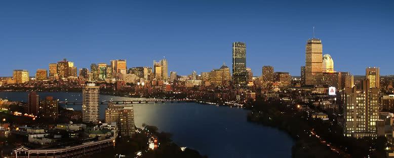 Akşam Manzarası - Boston