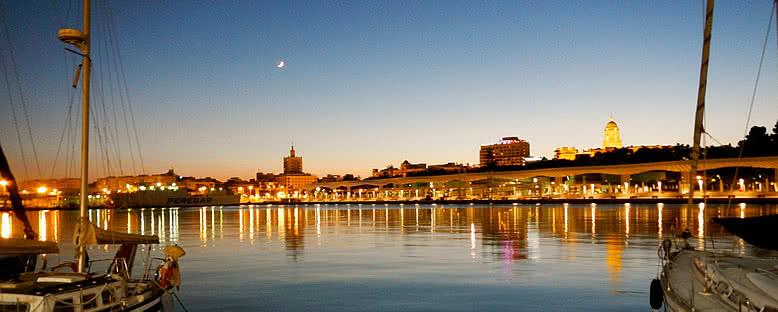 Akşam Manzarası - Malaga
