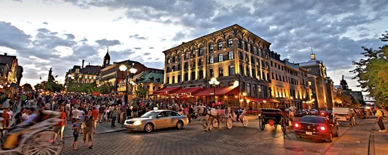 Akşam Manzarası - Montreal