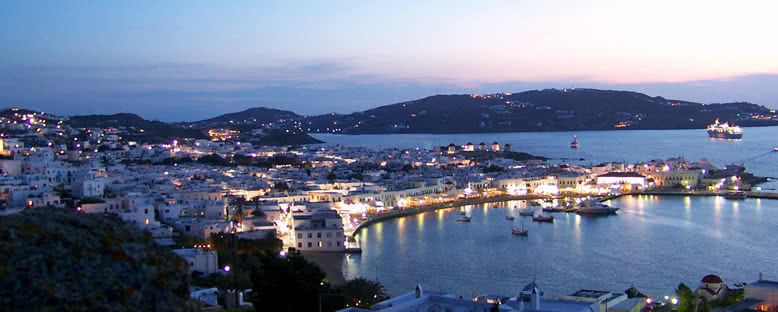 Akşam Manzarası - Mykonos