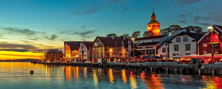 Akşam Manzarası - Stavanger