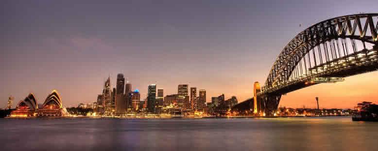 Akşam Manzarası - Sydney
