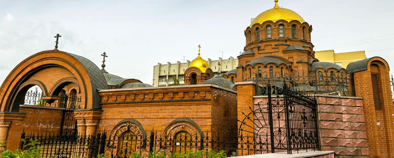 Alexander Nevski Katedrali - Novosibirsk
