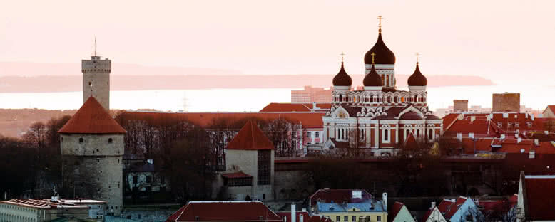 Alexander Nevsky Katedrali - Tallinn
