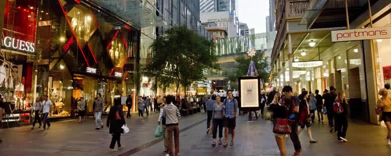 Alışveriş Caddeleri - Sydney