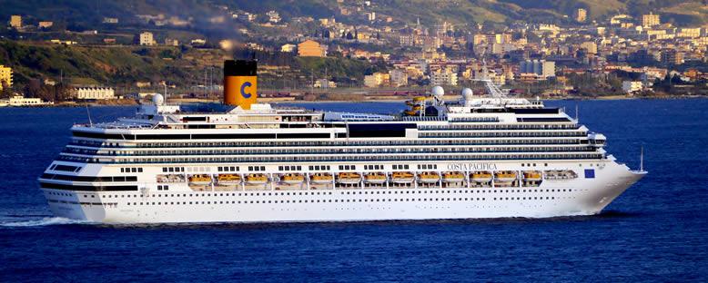 Costa Pacifica Cruise Gemi Turu