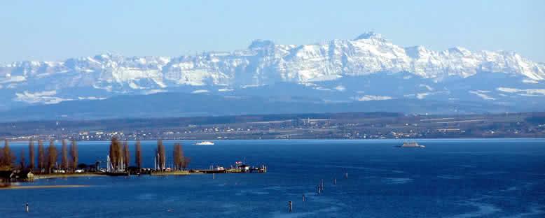 Alp Dağları Manzarası - Bodensee