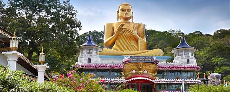 Altın Buddha Heykeli - Kandy