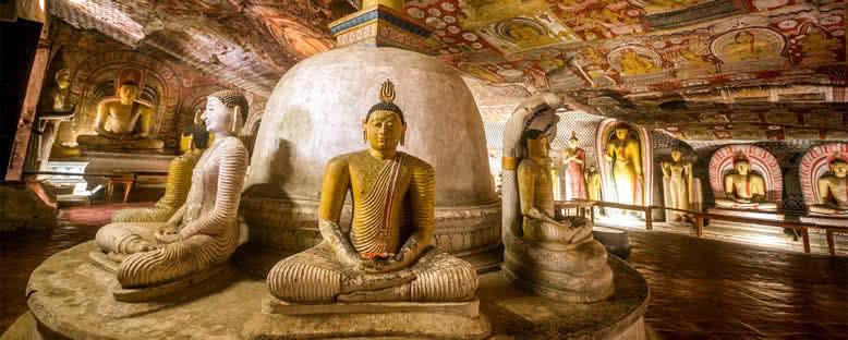 Altın Tapınak - Dambulla