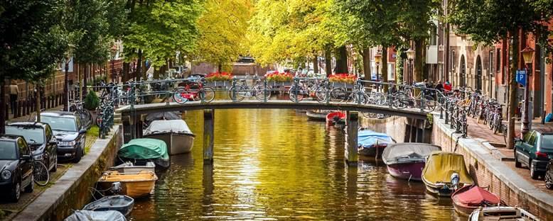Köprüler ve Kanallar - Amsterdam