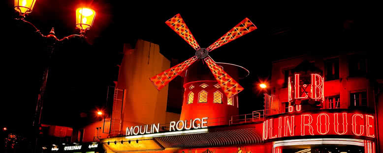 Moulin Rouge Geceleri - Paris