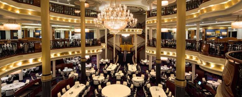 Ana Restaurant - Voyager of the Seas