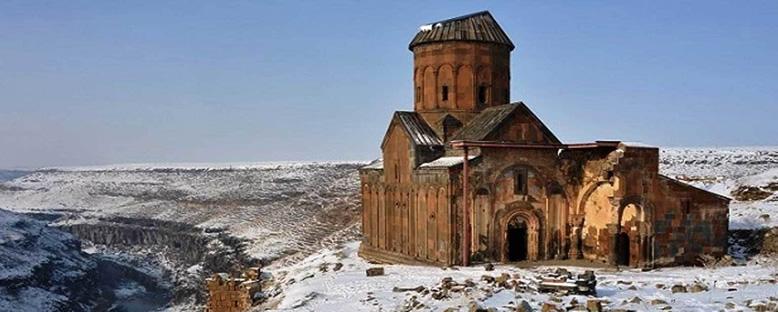 Ani Harabeleri Kış Manzarası - Kars