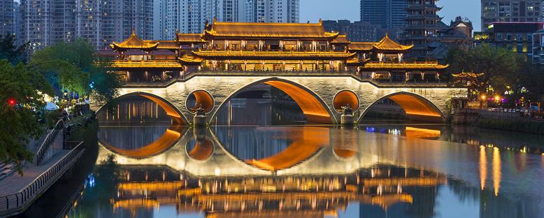 Anshun Köprüsü - Chengdu