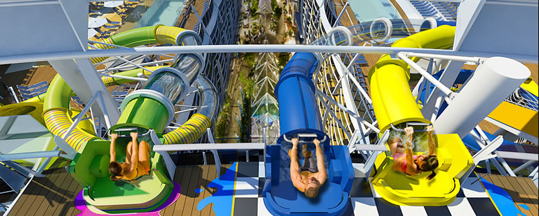 Aqua Park - Symphony of the Seas