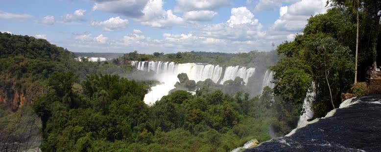 Arjantin Tarafından Manzara - Iguazu