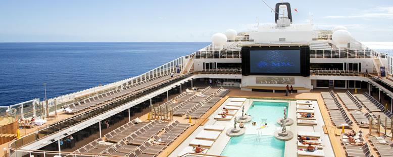 Havuz Katı - MSC Cruise