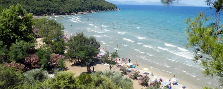 Milli Park'ta Deniz Keyfi - Kuşadası