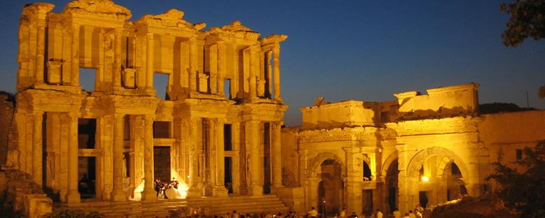 Efes Antik Kütüphanesi - Efes