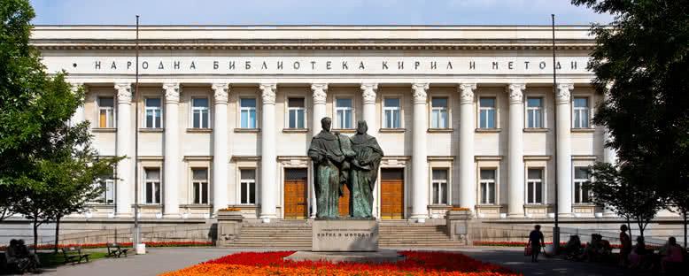 Aziz Cyril ve Methodius Ulusal Kütüphanesi - Sofya