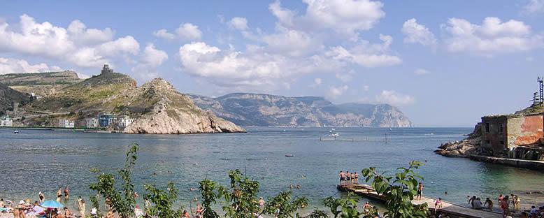 Balaklava Körfezi Girişi - Sivastopol
