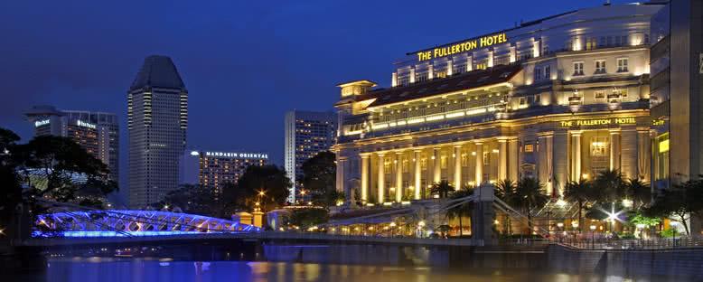 Gece Manzarası - Singapur