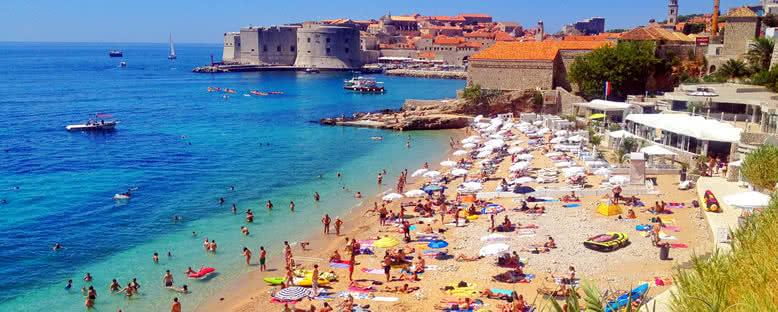 Banje Plajı - Dubrovnik
